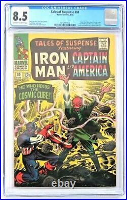 Tales of Suspense no. 80 CGC 8.5 1966 comic