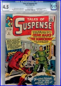 Tales of suspense 51 cgc. 4.5