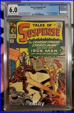 Tales of suspense 52 CGC 6.0 1st Black Widow