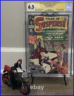 Tales of suspense 52 CGC SS 6.5 stan lee 1st black widow