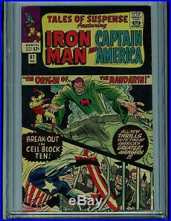 Tales of suspense #62 CGC 7.0 Origin of Mandarin Silver Age Marvel Comic K20
