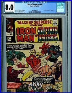 Tales of suspense #67 CGC 8.0 VF 1965 Marvel Amricons B12